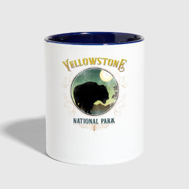 Yellowstone National Park - Contrast Coffee Mug