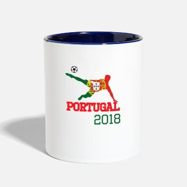 World portugal 2018 , #portugal 2018 - Contrast Coffee Mug