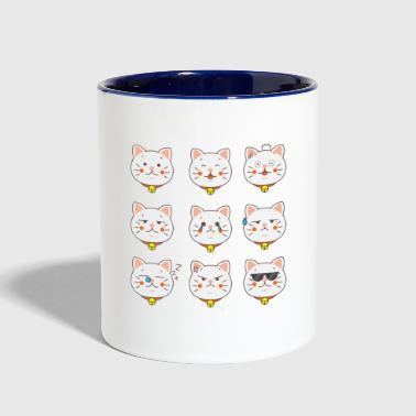 cats cat cats cats cats are wonderful - Contrast Coffee Mug