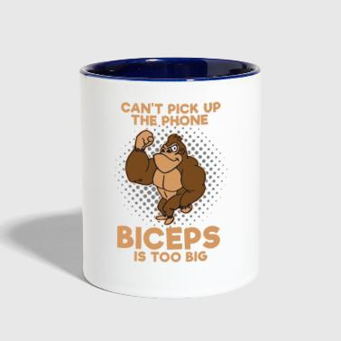 Biceps - Contrast Coffee Mug