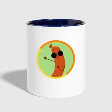 German Sausage - Contrast Coffee Mug