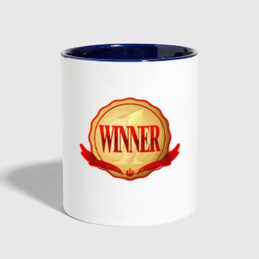Winner winner - Contrast Coffee Mug