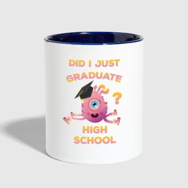 High School Graduation 2018 Funny Graduate - Contrast Coffee Mug