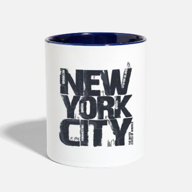 Nyc nyc - Contrast Coffee Mug