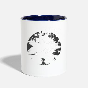 Fighter Jet JET FIGHTER - Contrast Coffee Mug