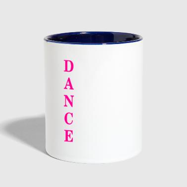 DANCE Acronym - Contrast Coffee Mug