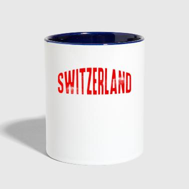 Switzerland Champion Sports Alps Europe - Contrast Coffee Mug