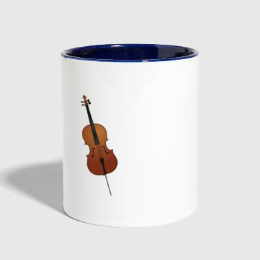 Cello Instrument - Contrast Coffee Mug
