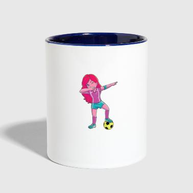 Sporty Girl - Contrast Coffee Mug