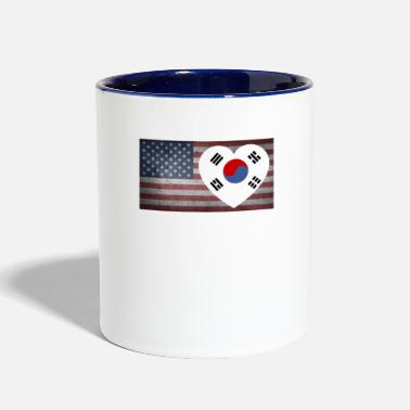 South south korea5 - Contrast Coffee Mug