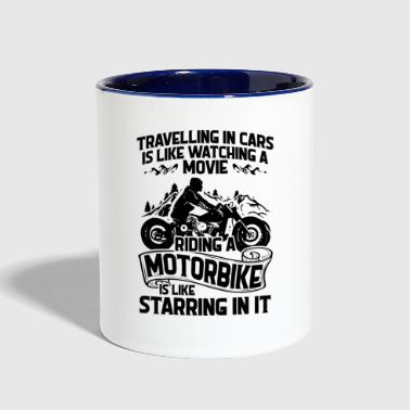 Bikers = Movie Stars - Gift - Contrast Coffee Mug