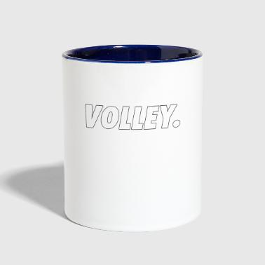 Volley - Volleyball - Total Basics - Contrast Coffee Mug