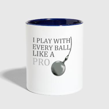wrecking ball - Contrast Coffee Mug