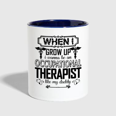 Proud Occupational Therapist - Contrast Coffee Mug