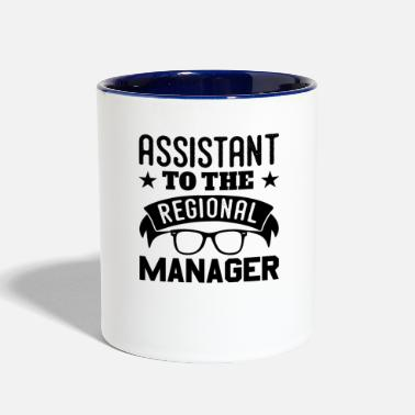 Region Assistant To The Regional Manager Fun - Contrast Coffee Mug