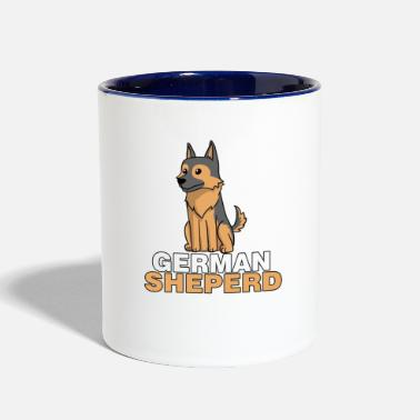 German Shepherd German Shepherd - Contrast Coffee Mug