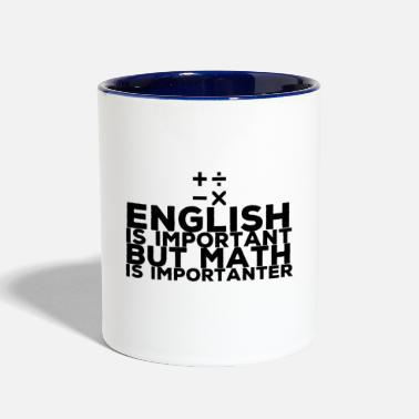 Mathematics Mathematics - Contrast Coffee Mug