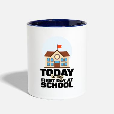School School - Contrast Coffee Mug