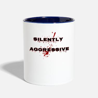 Silent silently - Contrast Coffee Mug