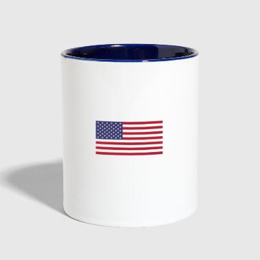 Stomp my flag. I'll stomp your ass - Contrast Coffee Mug