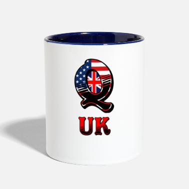 Uk Q UK - Contrast Coffee Mug