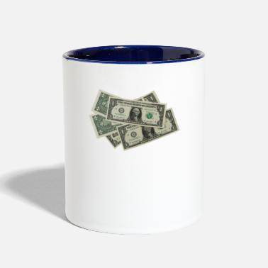 Money Money Please - Two-Tone Mug
