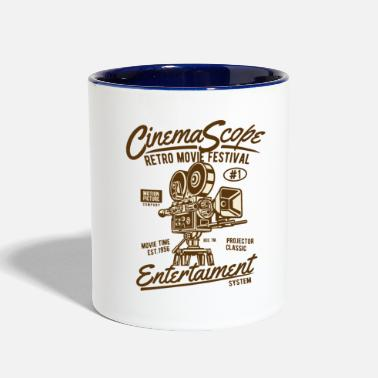 Cinema Cinema Scope - Contrast Coffee Mug