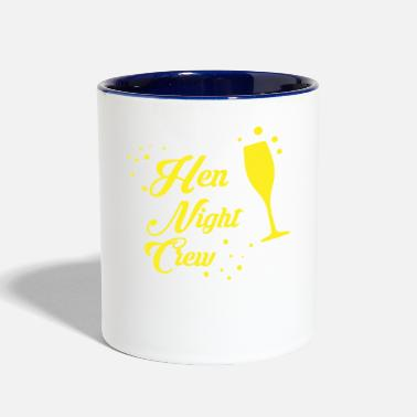Hen Night Hen Night Crew - Two-Tone Mug