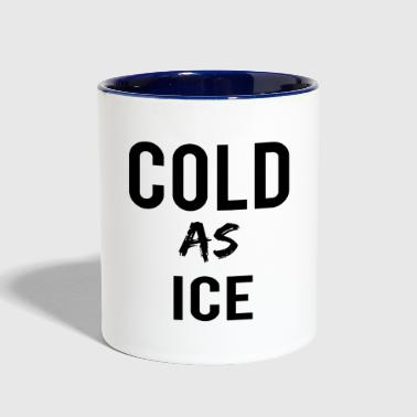 Ice COLD - Contrast Coffee Mug