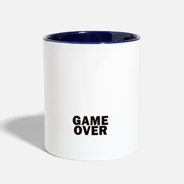 Game Over Game Over - Contrast Coffee Mug