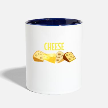 Pun Sweet Dreams Are Made Of Cheese - Contrast Coffee Mug