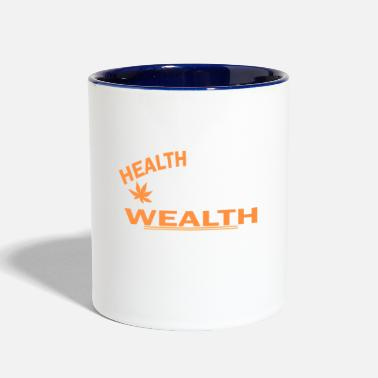 Health health - Contrast Coffee Mug