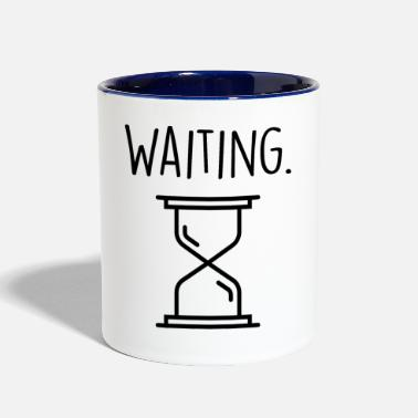 Wait waiting - Contrast Coffee Mug