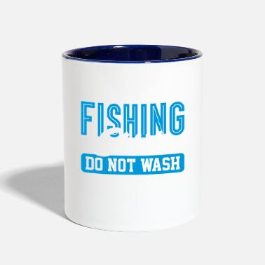 Lucky Fishing Shirt Do Not Wash - Two-Tone Mug