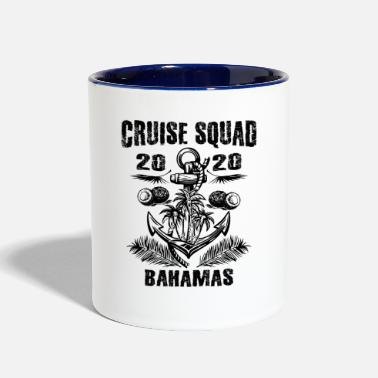 Vacation Cruise Squad Bahamas 2020 Family Trip Vacation - Two-Tone Mug