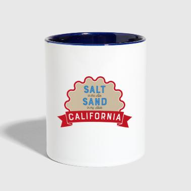 california - Contrast Coffee Mug