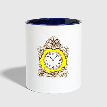 Clock Clock - Contrast Coffee Mug