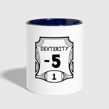 None of the Dexterity - Contrast Coffee Mug