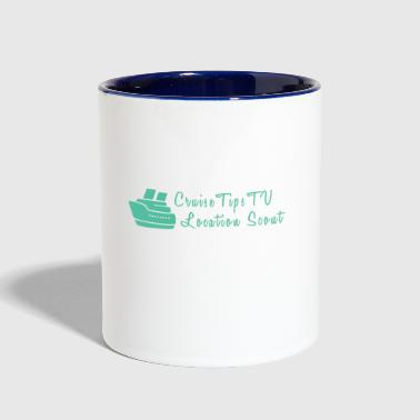 Cruise Cruise Tips TV Location Scout - Contrast Coffee Mug