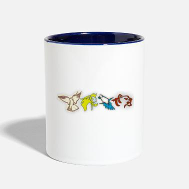 Animal Lover Animals lover animal - Two-Tone Mug