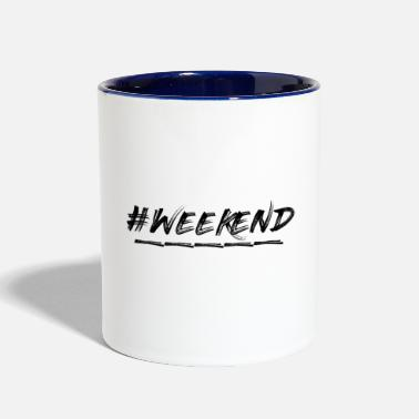 Weekend #weekend - Two-Tone Mug