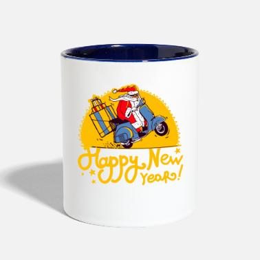 Happy New Year Happy New Year - Two-Tone Mug