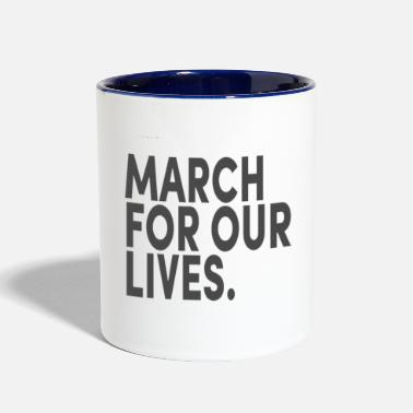 Days Of Our Lives March For Our Lives - Contrast Coffee Mug