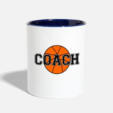 Coach Basketball Coach - Two-Tone Mug