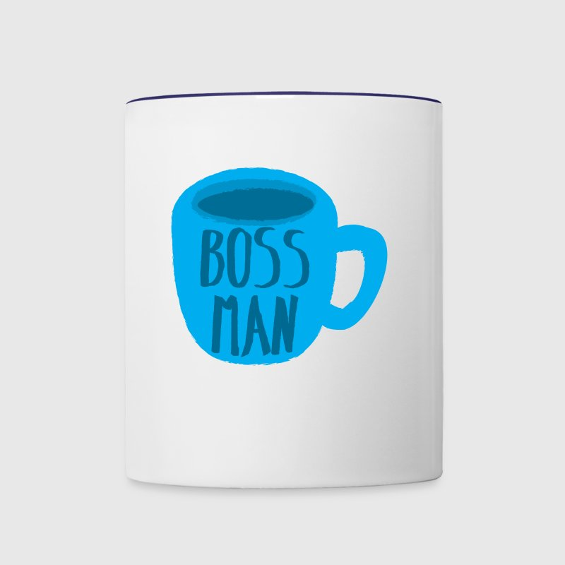 BOSS MAN coffee cup - Contrast Coffee Mug
