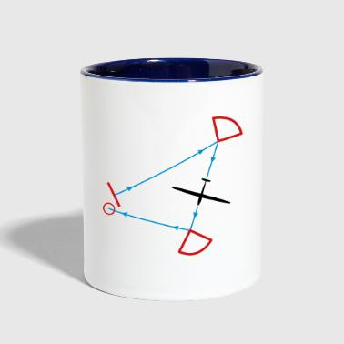 glider competition - Contrast Coffee Mug