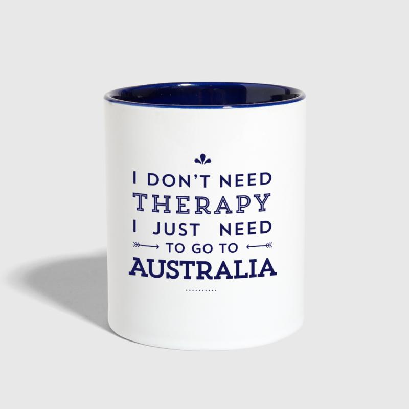 I just need to go to Australia - Contrast Coffee Mug