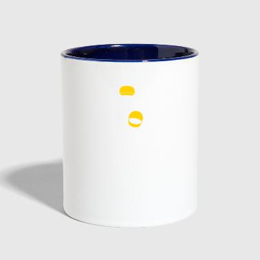 A Racer With Helmet - Contrast Coffee Mug