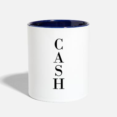 Cash CASH - Contrast Coffee Mug
