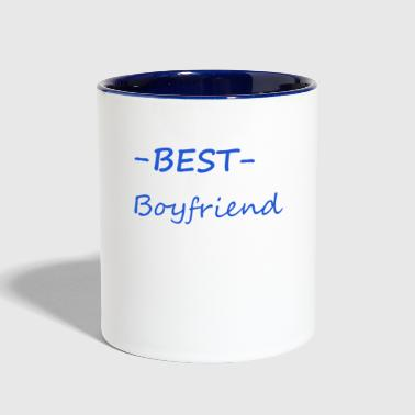 Best boyfriend - Contrast Coffee Mug